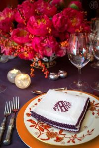 Thanksgiving Design with Coral Charm Peonies from Chile